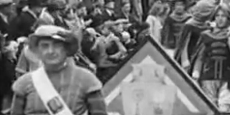 De vredesoptocht van Hamme (1945)